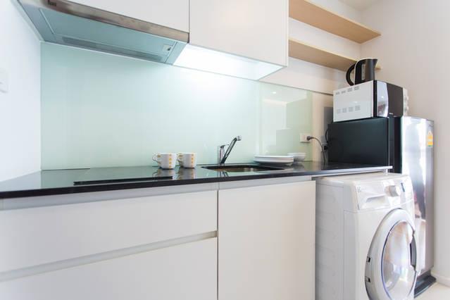 15 Sukhumvit Residence-1bedroom-rent-Kicthen Microwave