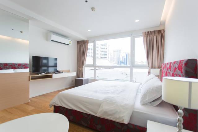 15 Sukhumvit Residence-1bedroom-rent-LED TV