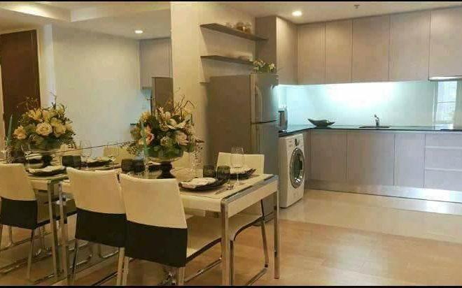 2-Bedroom Condo Rent Asoke - High Floor in 15 Sukhumvit Residences