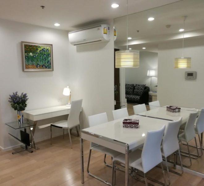 2-Bedroom Condo Rent 15 Sukhumvit Residences - New Unit