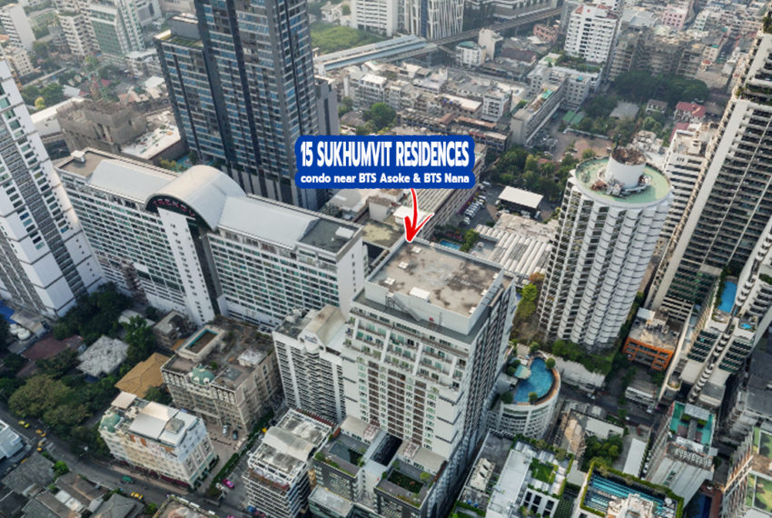 15 Sukhumvit Residences condo 1 - REMAX Bangkok
