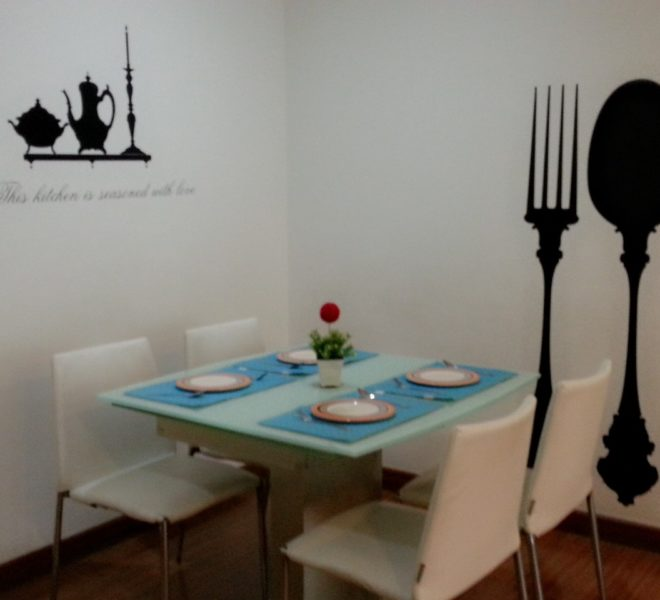 2-bedroom large condo in Asoke for rent - high floor - My Resort Bangkok condominium