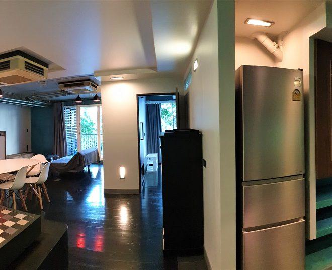Apartment for sale at Sukhumvit 15 - 2 bedroom - 2 balconies - low-rise Urbana 15 condominium