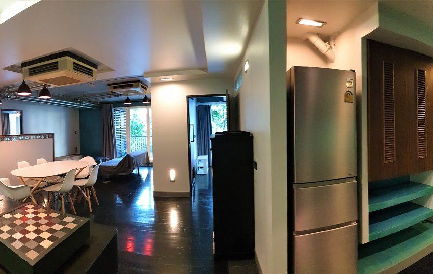 3-bedroom condo in Urbana - open kitchen