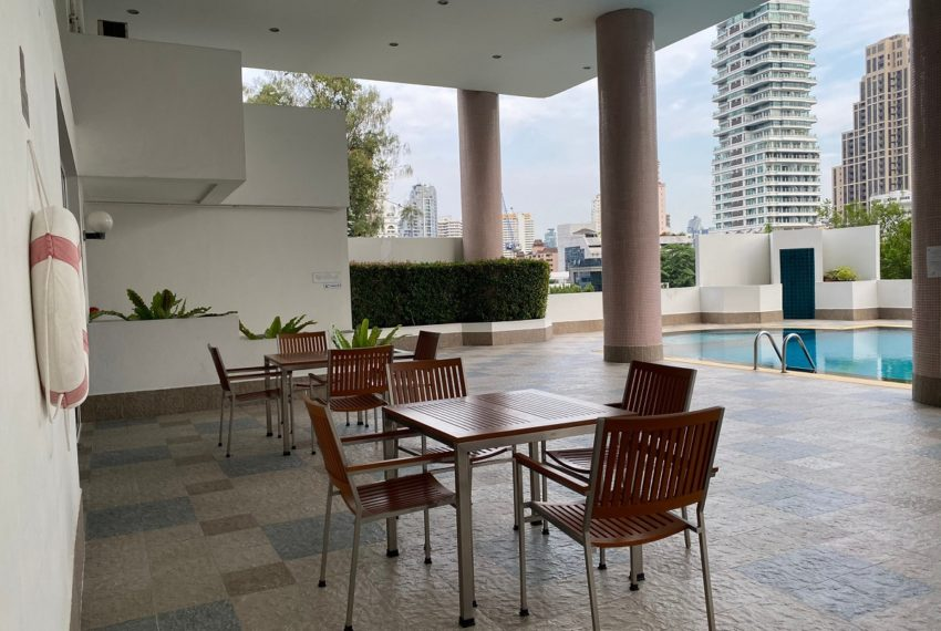 33 Tower - pool area