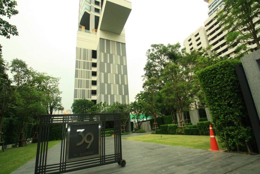 39 by Sansiri condominium - entrance