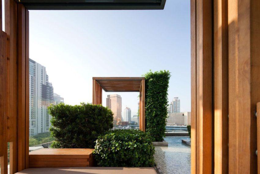 39 by Sansiri condominium - garden