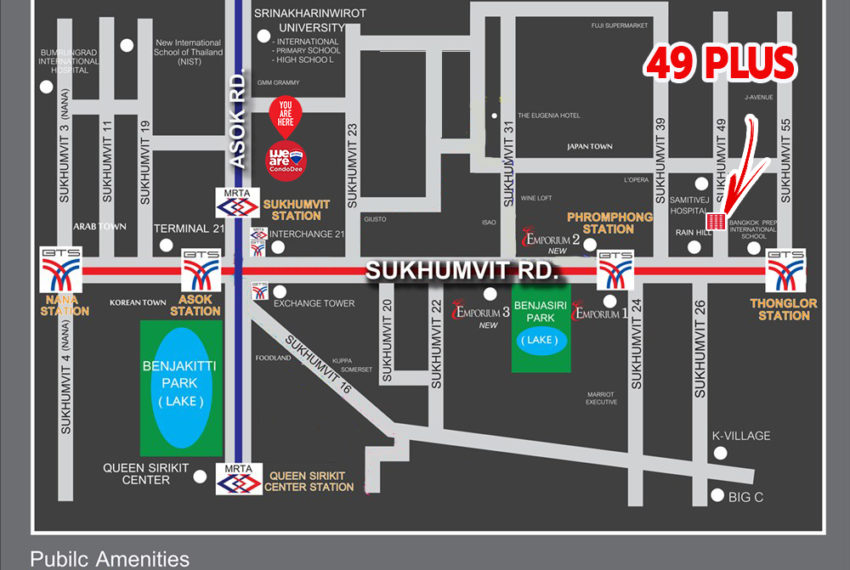 49 Plus condominium - map