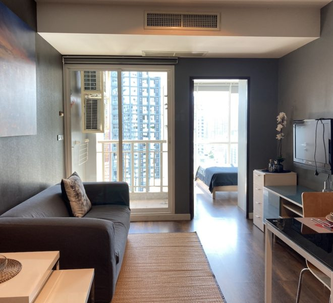 Apartment for sale near BTS Thonglor - 1 bedroom - high floor - 59 Heritage