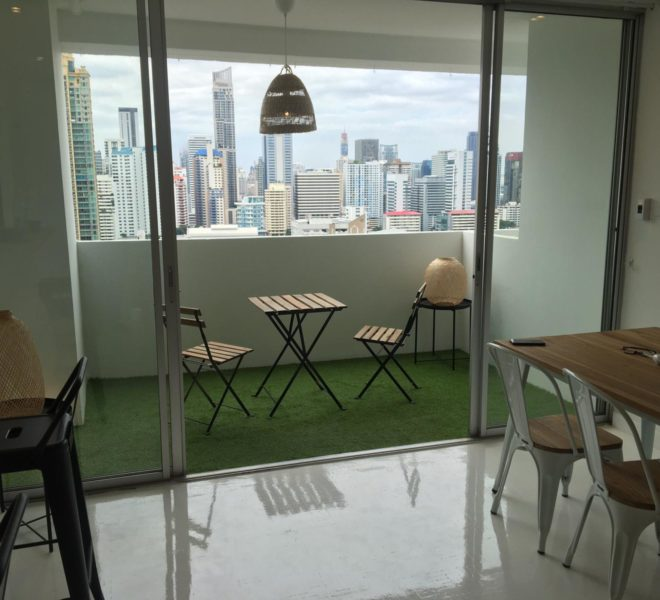 Large apartment recently renovated - SALE WITH TENANT - 3 bedroom - high floor - D.S. Tower 2