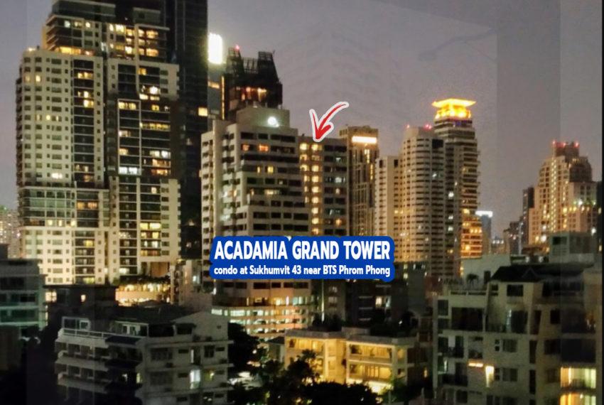 Acadamia Grand Tower 1 - REMAX CondoDee
