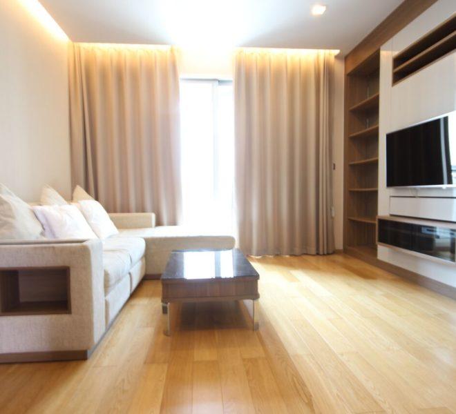 Address Asoke high floor for rent - living 02