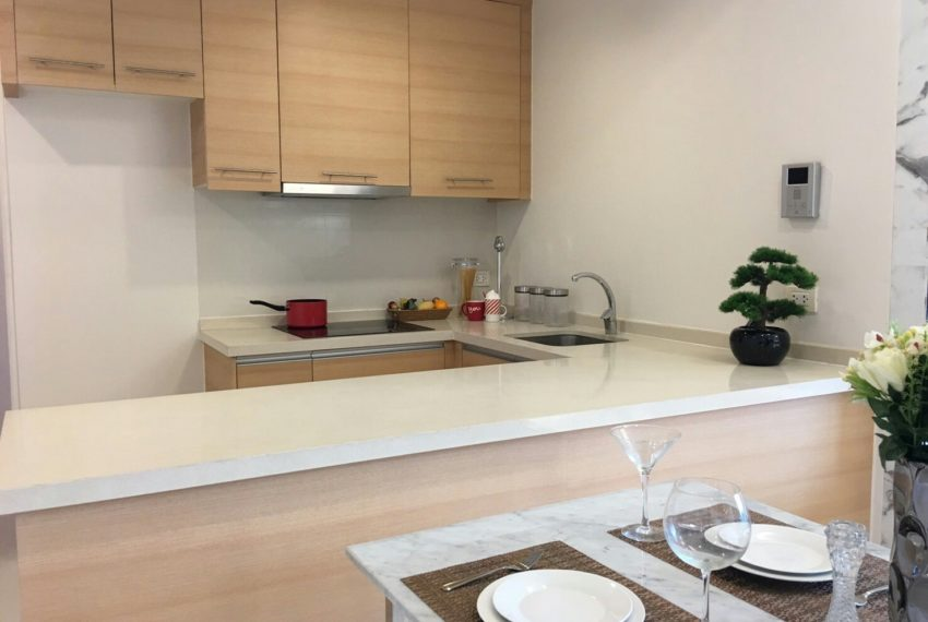 Aguston Sukhumvit 22 2bedroom for sale and rent - kitchen