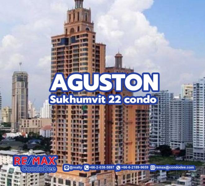 Aguston Sukhumvit 22 Condominium Near Phrom Phong BTS