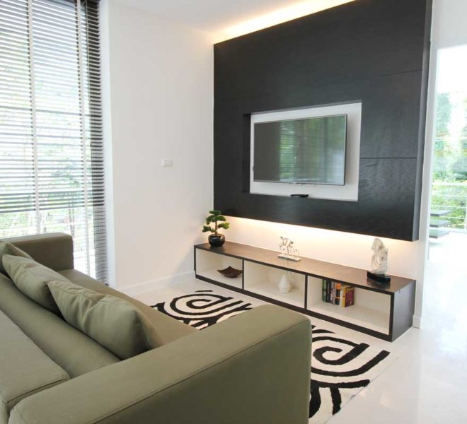 Apartment Phuket Vacation Home Deal in Kamala in The Trees Residence - TV area