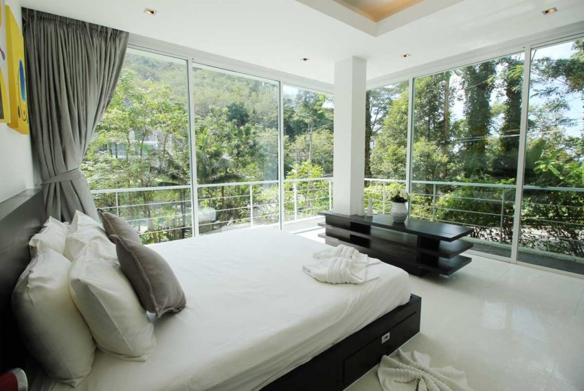 Apartment Phuket Vacation Home Deal in Kamala in The Trees Residence - master bedroom 2