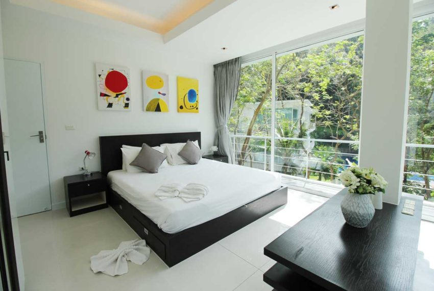 Apartment Phuket Vacation Home Deal in Kamala in The Trees Residence - master bedroom 3