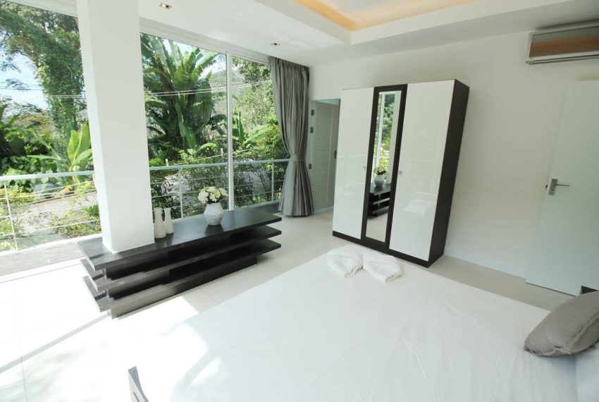 Apartment Phuket Vacation Home Deal in Kamala in The Trees Residence - master bedroom