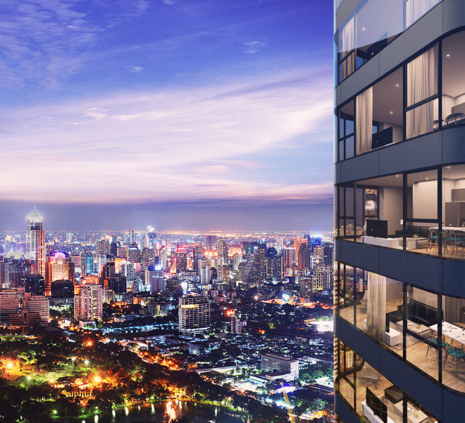 Ashton Asoke Luxury Condominium Near BTS Asoke and MRT Sukhumvit Condo Near Terminal 21 Condo in Asoke Condo in Sukhumvit Road