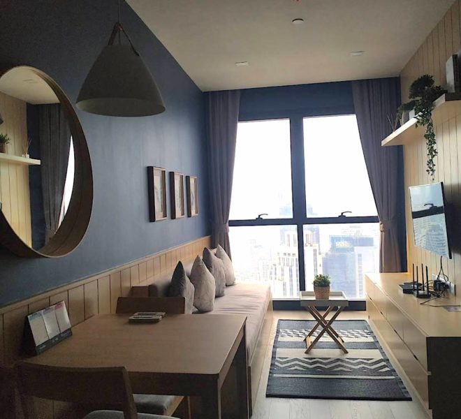 Sukhumvit Condo For Sale - 1 Bedroom - high floor - Ashton Asoke Condominium