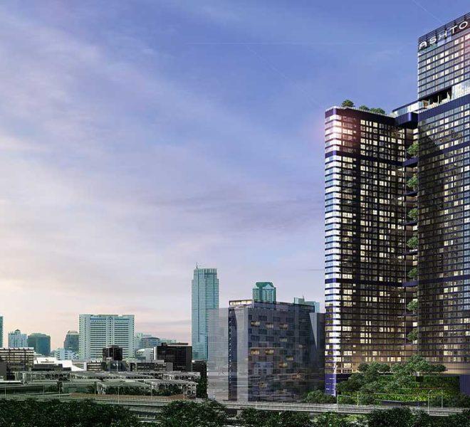 Ashton Chula Silom by Ananda - building