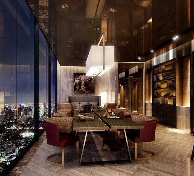 Ashton Chula Silom by Ananda - city view