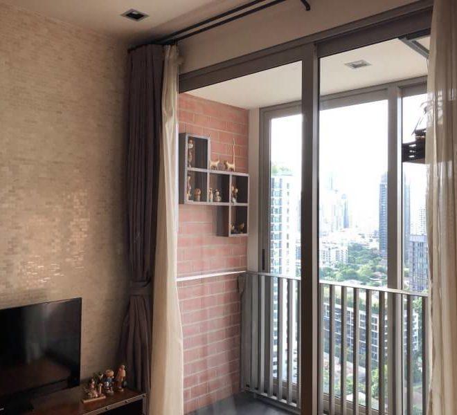 Ashton Morph Sukhumvit 42 - 2bedroom 1 bathroom - balcony