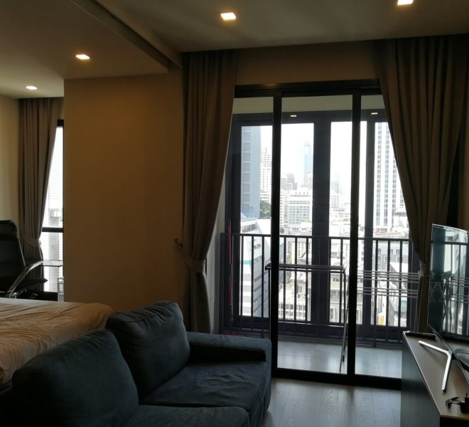 Condominium for rent near Asoke BTS - 1-Bedroom - Premium Furniture