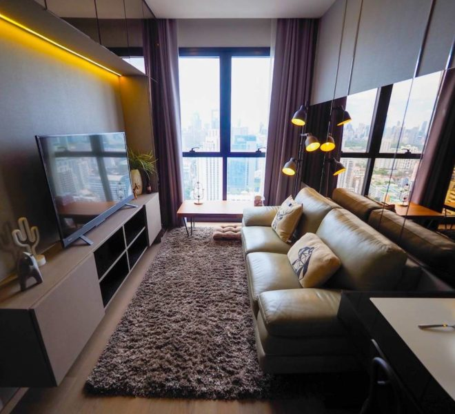 Rent condo on the high floor near Sukhumvit MRT - 1 bedroom - Ashton Asoke