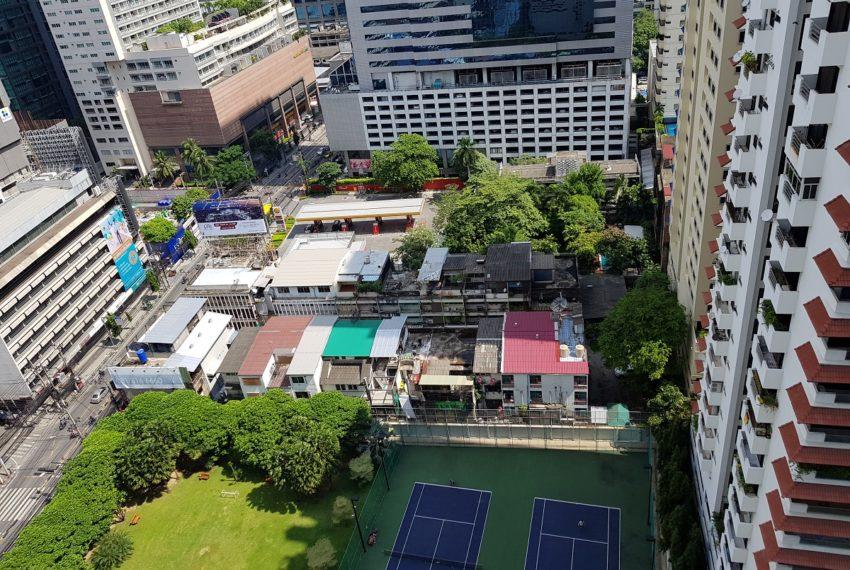 Asoke Place Condominium 3-bedroom for rent - city view