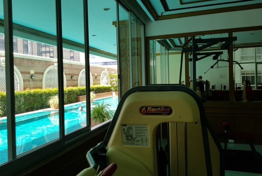 Asoke Place Condominium on Sukhumvit 21 - fitness club