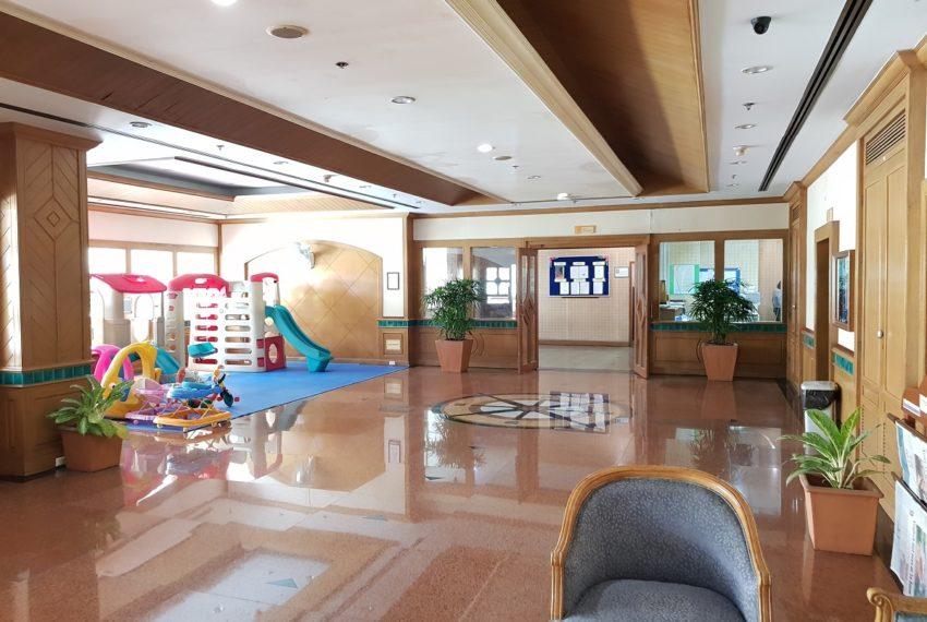 Asoke Place Condominium on Sukhumvit 21 - kids playroom
