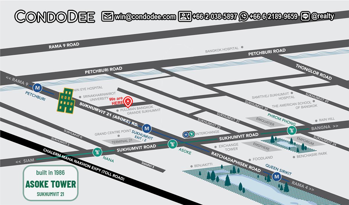Asoke Tower Condominium Near University
