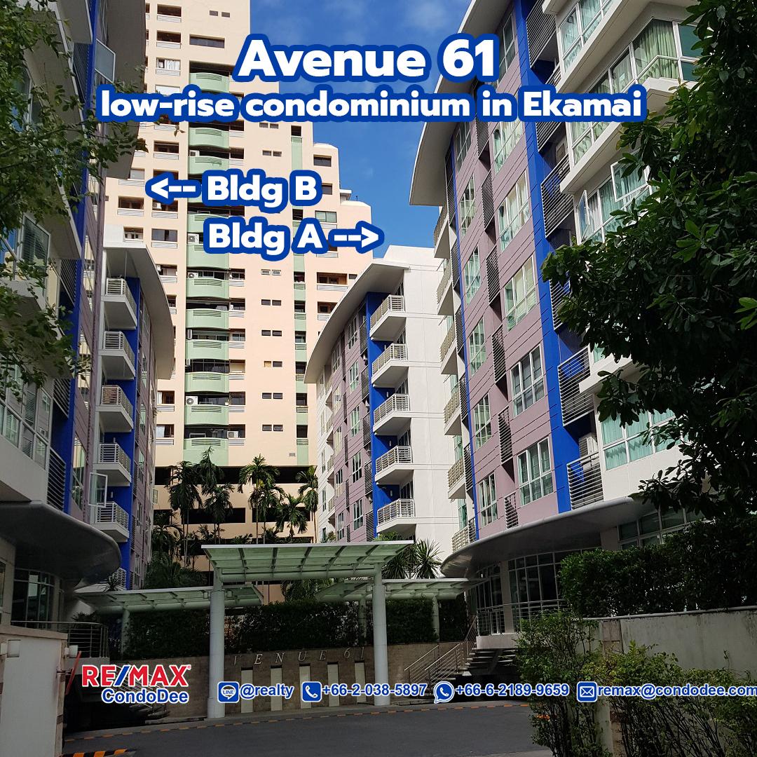 Avenue 61 Condominium Near Ekamai BTS
