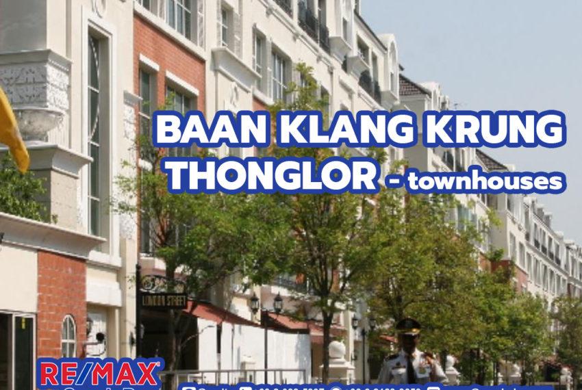 Baan Klang Krung Thonglor by REMAX condoDee