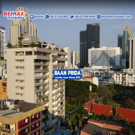 Baan Prida Sukhumvit 8 Condominium Near Nana BTS