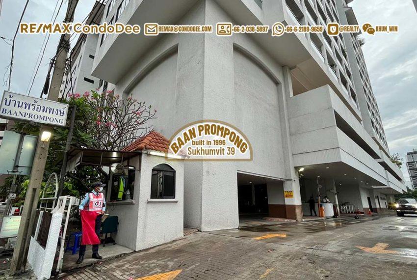 Baan Prompong Sukhumvit 39 condo - building