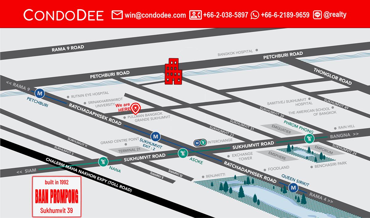 Baan Prompong Condominium in Sukhumvit 39