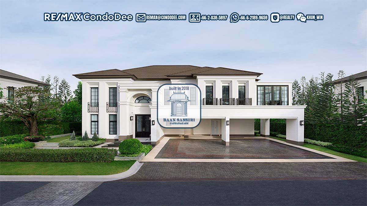 Baan Sansiri Pattanakarn Luxury Houses