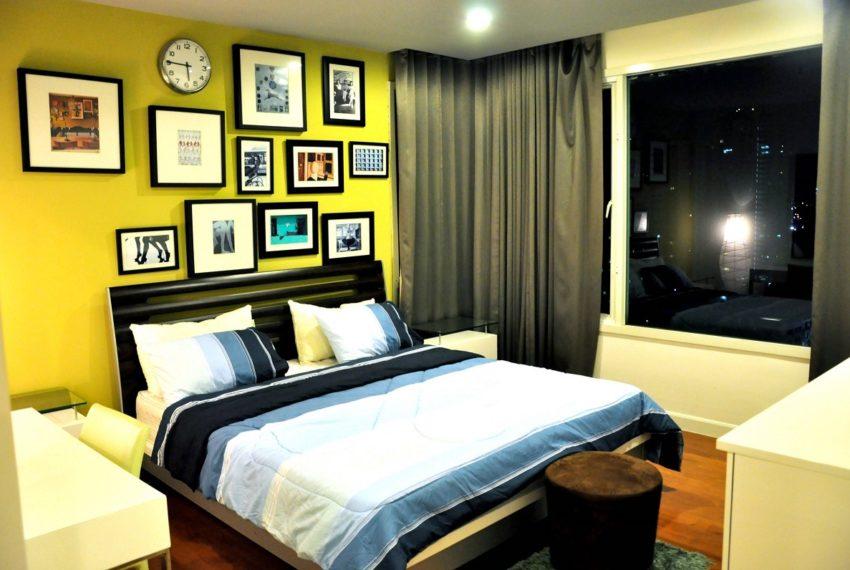 Baan Siri 31 Asok Phrompong Condominium - bed