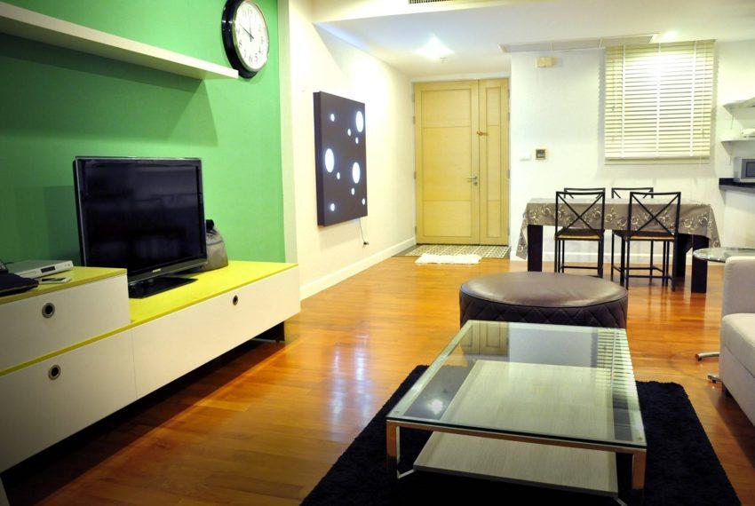 Baan Siri 31 Asok Phrompong Condominium - living