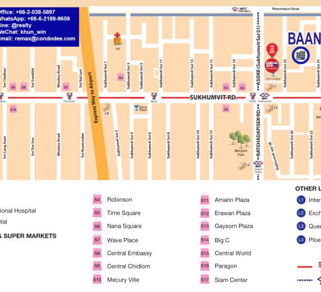 Baan Siri 31 condo - map
