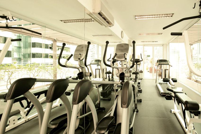 Baan Siri Sukhumvit 13 condo - fitness