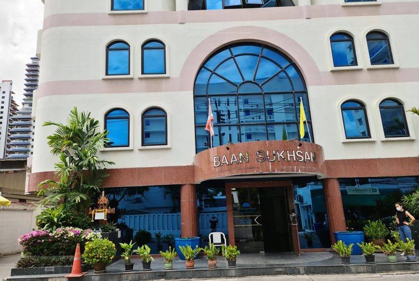 Baan Suksan Bangkok condo Sukhumvit 23 - bldg