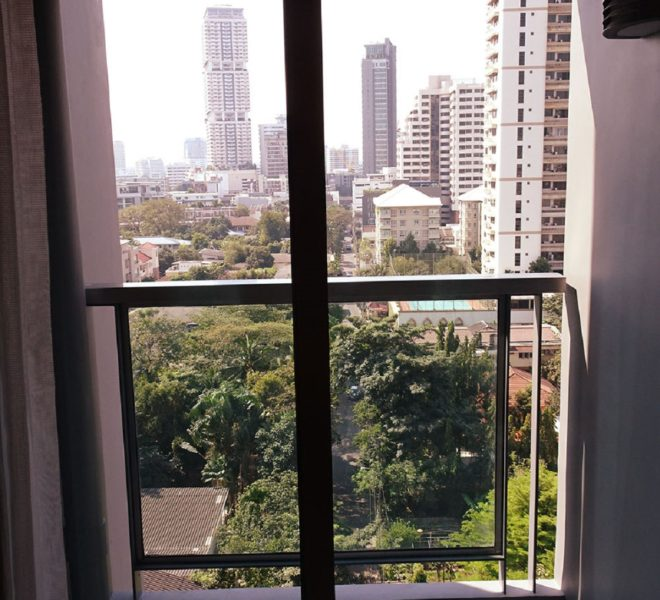Flat for rent 2-bedroom near BTS Phrom Phong - corner unit - H Sukhumvit 43