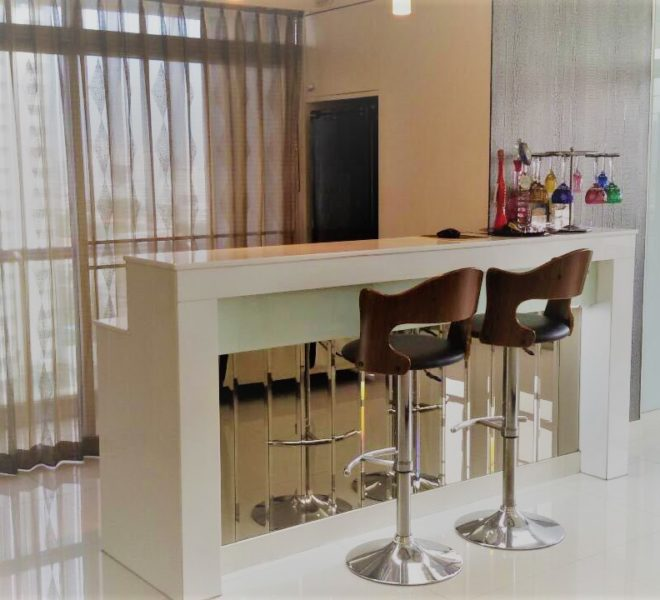 Ban Phrompong bar in living area