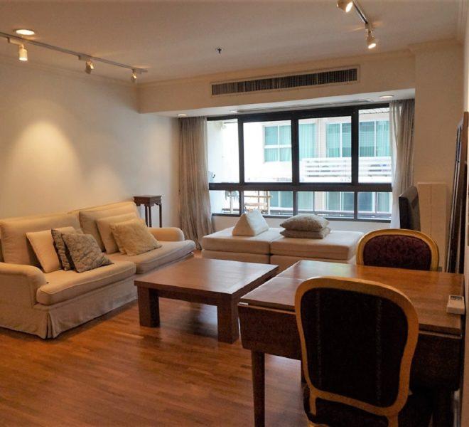 Condo for Rent in Baan Ploenchit - 1-Bedroom Large