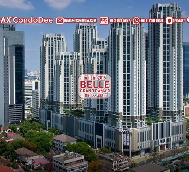 Belle Grand Rama 9 condominium - REMAX CondoDee