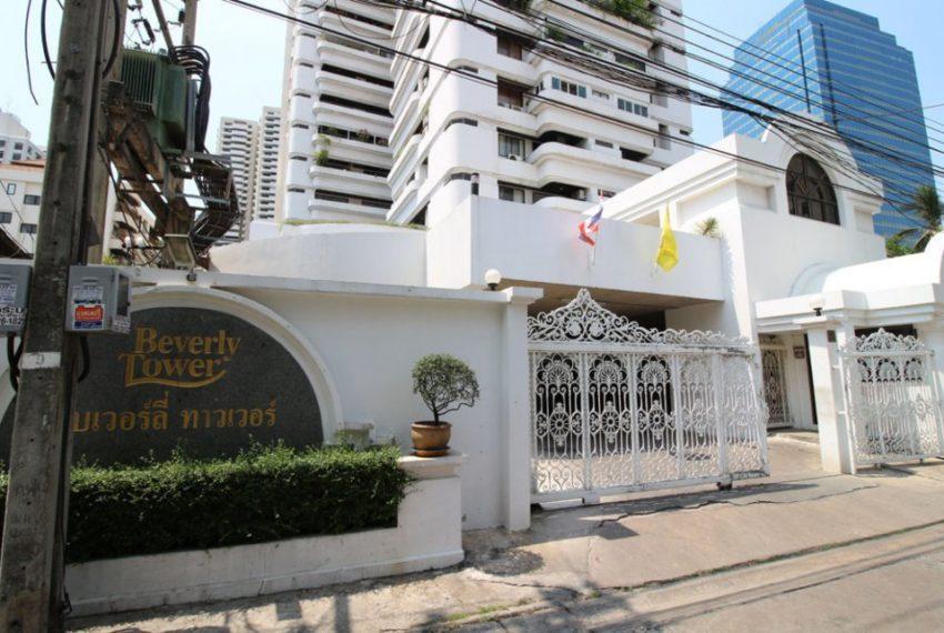 Beverly Tower Sukhumvit 13 - entrance