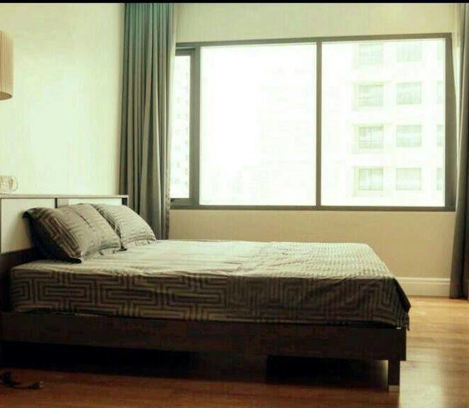 Bright Sukhumvit 24 1 bedroom for sale - bed